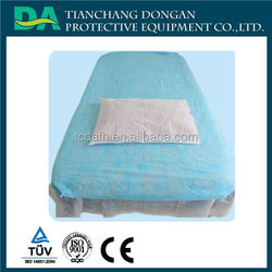 Disposable Medical Massage Bed Cover and pillow case / mattress Sheet