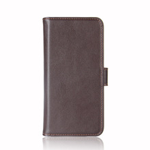 Good Quality Genuine Leather Card Holder Wallet Flip Leather Case For Samsung Galaxy J7 Pro /J7 2017 (EU) /J730