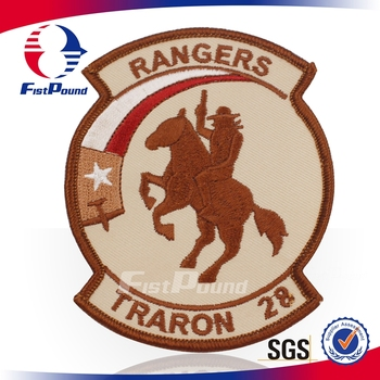 Rangers Emblem Embroidery Badge