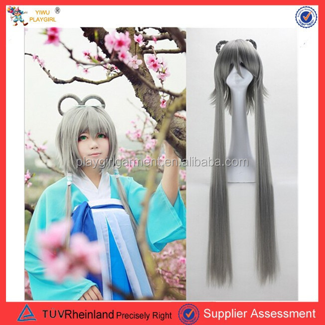 china supplier japanese animation girl front lace wig human hair lace wig PGW-1799