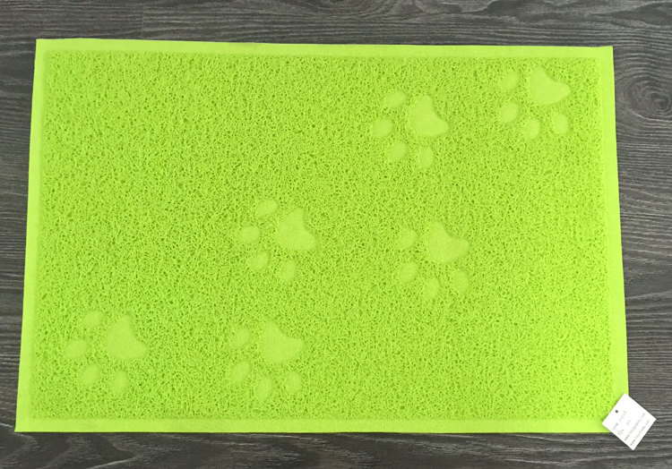 Wholesale rubber pet food mat pet litter mat