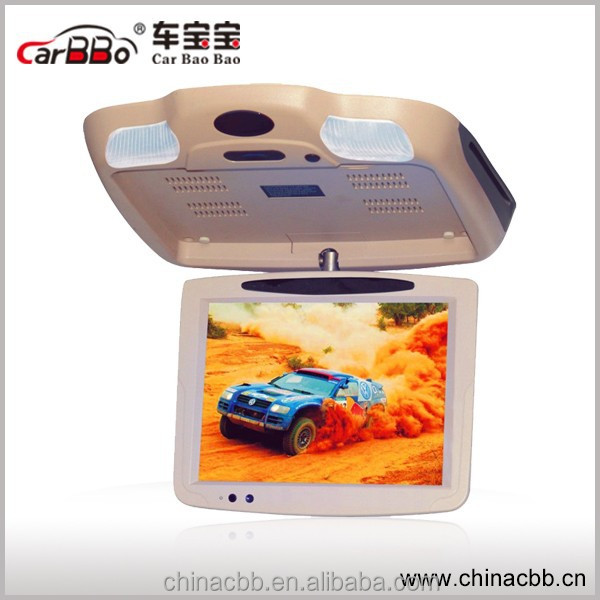 10.4 inch Super Slim HD Car/Bus Flip Down/Roof mounted Monitor