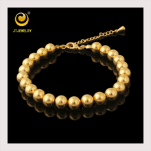 Factory supply bracelet beads, 18k gold color custom bracelet, bead bracelet for girl