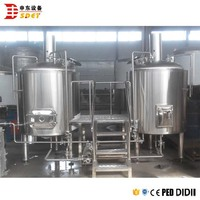 Electric 5bbl Microbrewery Beer Equipment For