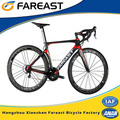 china high speed colorful complete carbon fiber road bike for YDRD700*21-001