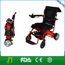 aluminum foldable electric wheelchair for disabled