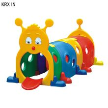 plastic kids outdoor play tunnel playground for play centre