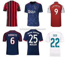 2017-2018 cheap all club soccer jersey factory wholesale