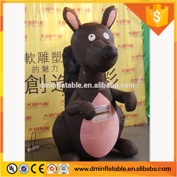 cheap custom advertising giant inflatable kangaroo,inflatable model for advertising f or party event party