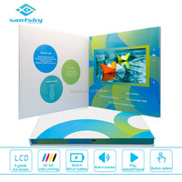Customized Printing Living Brochure Card Most