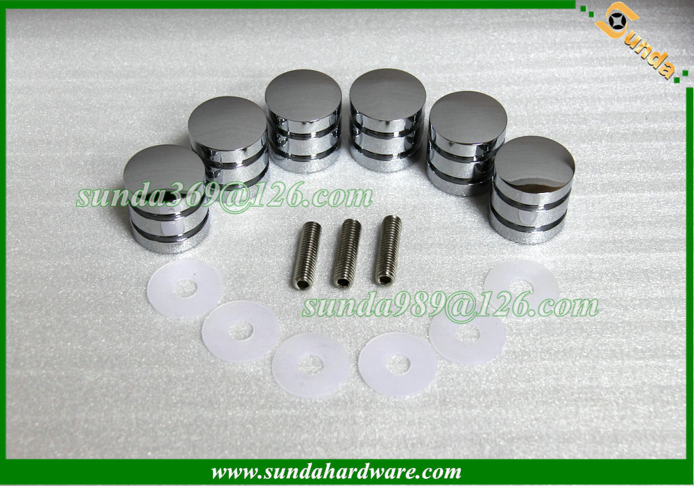 aluminum handles for glass shower door