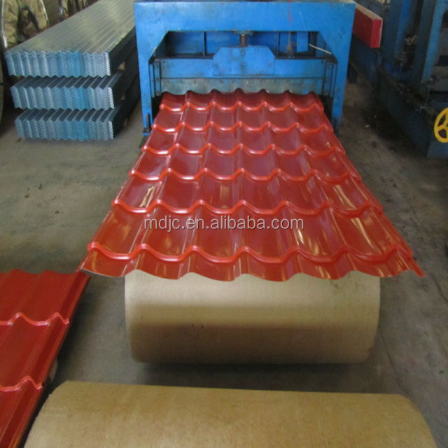 color coated corrugated plastic synthetic resin roofing sheets