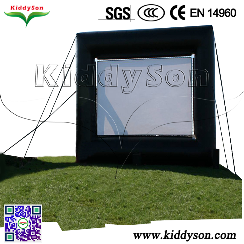 2017 Inflatable Air Screen for TV, Backyard Inflatable Air Screen for Film, family Inflatable Air Screen for movie