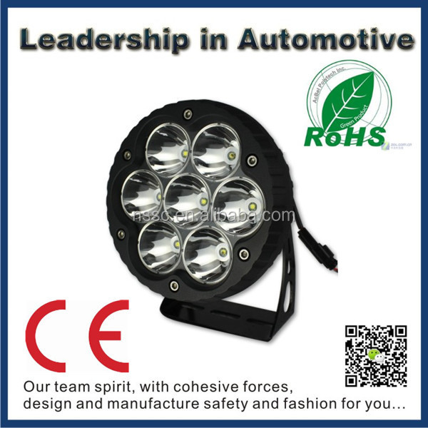 New! NSSC Off road 4x4 4wd 70w cree led work light led lights china price list