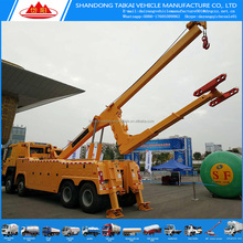 Howo 30 ton heavy duty tow truck under lift wrecker truck for sale from china