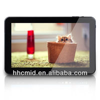 10 inch import android tablet pc a20 dual core processors with 3g externl dongle and otg port input and capacitive screen
