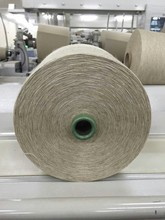 85% Cotton/15% Linen blended slub yarn Ne 30s ring spun