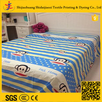 printed/dyed/bleached 100% cotton sheeting/bedding fabric for home/hospital