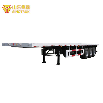Latest China Made New Container Semi Trailer Dimensions Price and Price