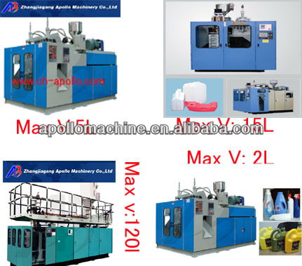 plastic blow mould machine/deflasher device available/full automatic blow molding machine