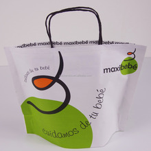 Eco friendly custom shopping kraft paper bags in new design