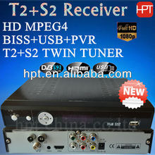 T2+S2 receiver support software upgrade by OTA