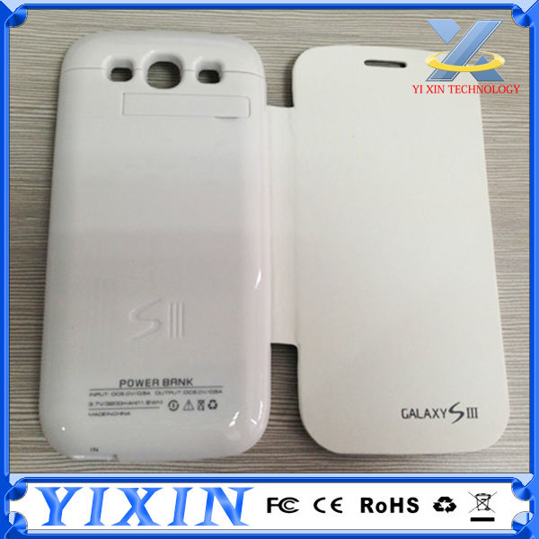 Wholesales extended battery case for samsung galaxy s3