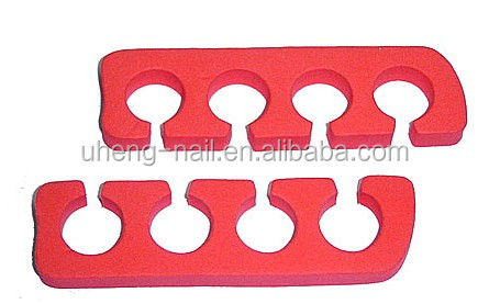 Foot shape eva toe separators