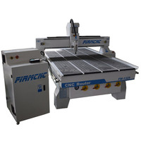 Heavy duty cnc wood carving machine Jinan wood cnc router with vacuum table