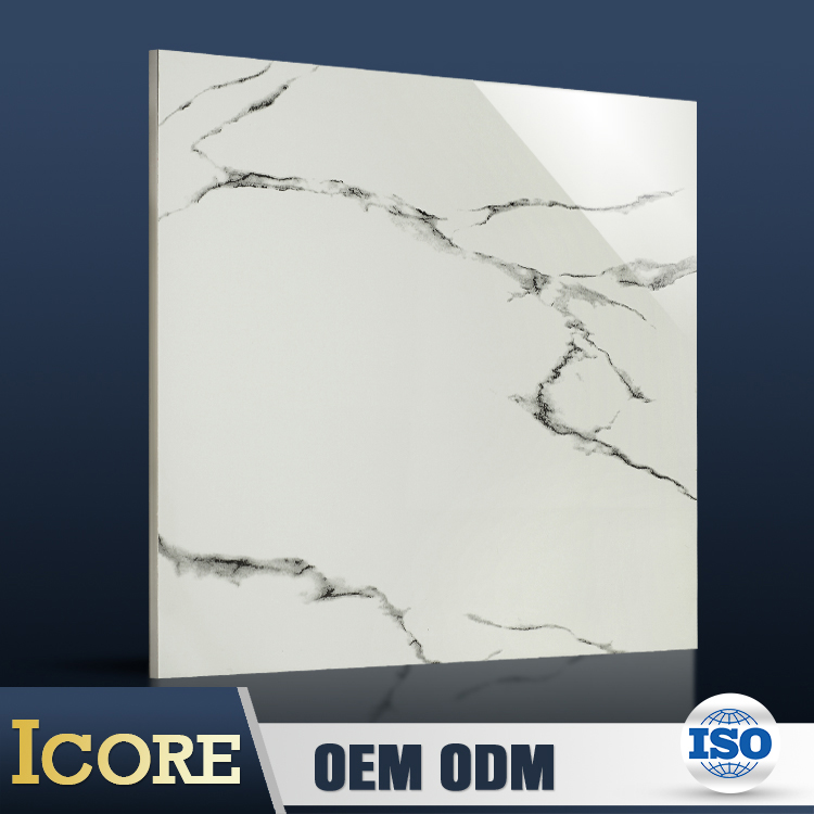 China Buying Agent High Quality Gloss Carrera Marble Tiles