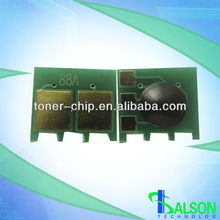 reset chip hp for 88 toner chip 388a cartridge chip