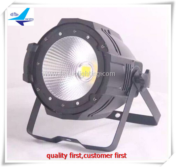 LED PAR 64 RGBW DMX Stage Lighting 100W LED COB Par Can Light Warm White Or Cool White Light