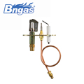 B880309 best quality room safety gas heater parts ods pilot burner with flame sensor