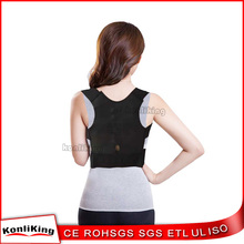 Excellent Quality Magnetic therapy posture corrector support brace for back and shoulder correction for lady use