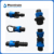 Plastic 16mm drip tape fittings and connectors for agriculture irrigation high quality from China Plentirain