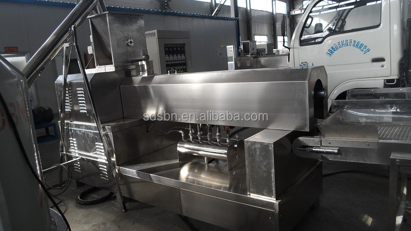 China factory price automatic Dog chews food machine