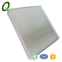 High efficiency air conditioner cleaner air filter for green house carbon air filter element