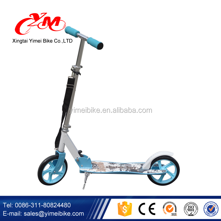 CE approved PU wheels two wheel kids cooter/2 in 1 smart kids scooter/China new model plastic wholesale kids scooter