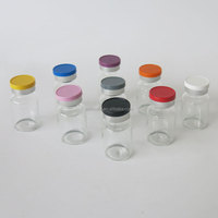 Top quality cheap price clear color 10ml medicine bottle with flip off cap for pharmaceutical/serum