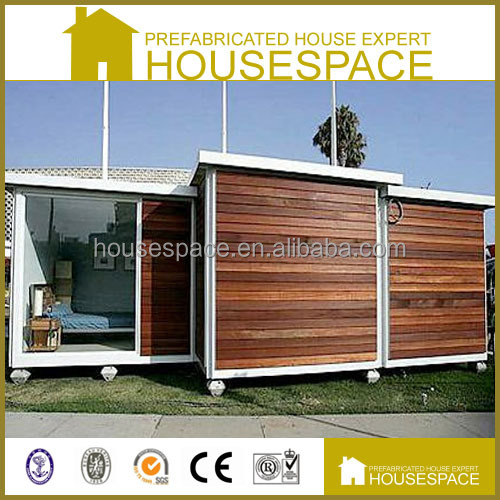 Cost Effective Steel Frame Prefabricated Small Wooden House