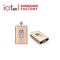 Mobile Accessories 128gb Usb Flash Memory Usb Otg Flash Drive For android and Ios