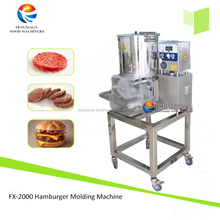 CE approved atomatically hamburger forming machine,meat patty machine,meat pie molding machine