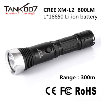 Alluminum rechargeable geepas torch cob police LED torch TC07