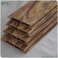 high quality wpc fence/ hollow composite wpc board/cheap wood plastic composite exterior wall cladding