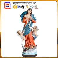 polyresin virgin mary decoration and religious virgin mary and virgin mary statues for sale