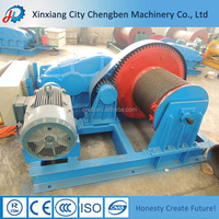 Small Capstan Electric Winch For Tower