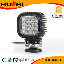 Top quality 48w 10-30v led flood work light ip68 led portable lamp auto parts 40w truck led working lights