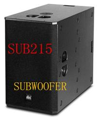 TW audio 2*15 dj bass speaker (B30) SUB-215 neodymium speaker long throw subwoofer for line array sound system from guangzhou