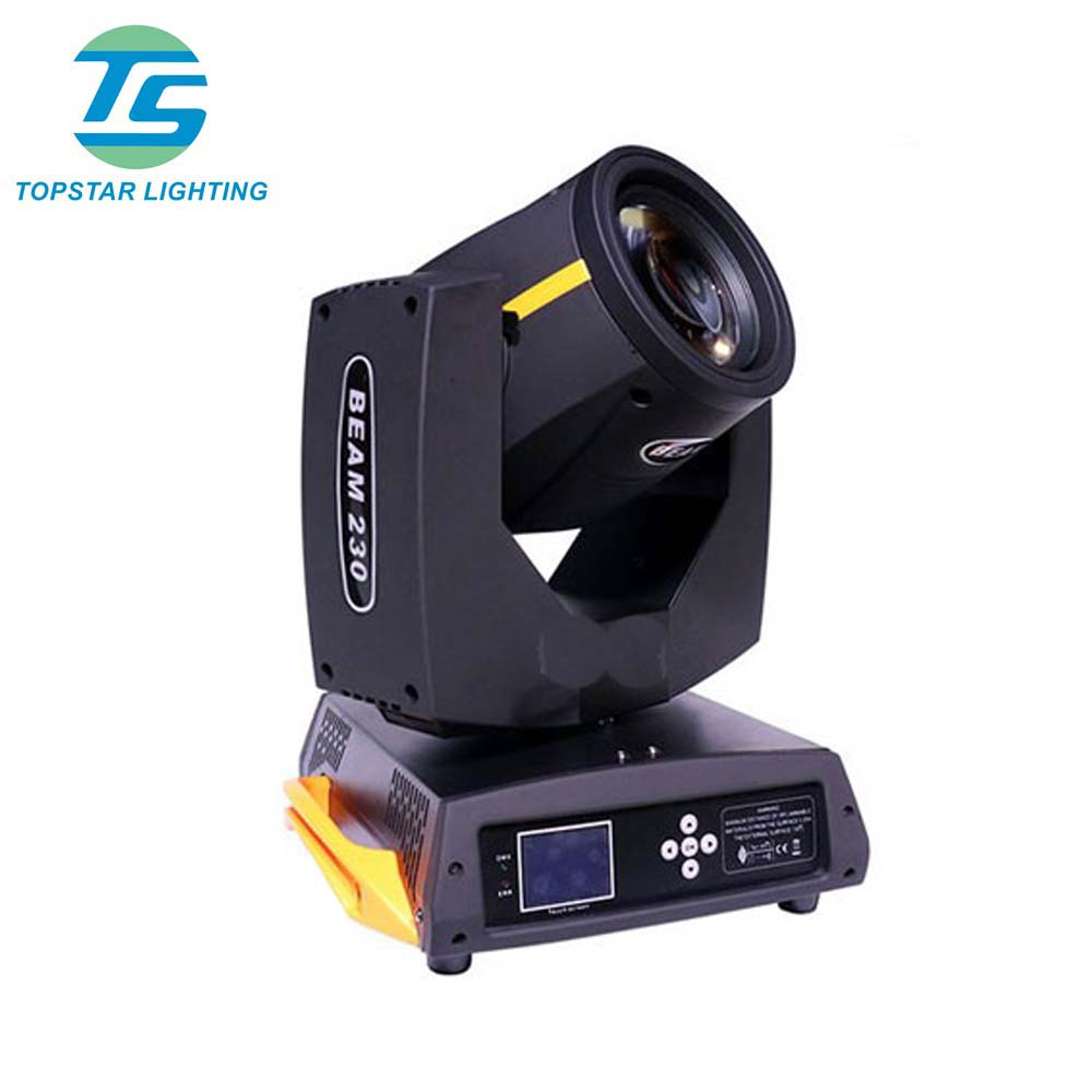 Stock Sharpy Beam230 230w 7r Moving Head Light Dmx Computer Moving Head For Dj Club Event Party