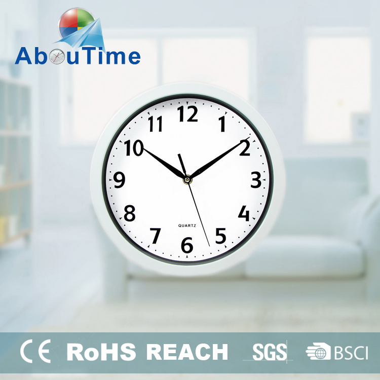 12 inch fashionable style art craft plastic hollow balls wall clock
